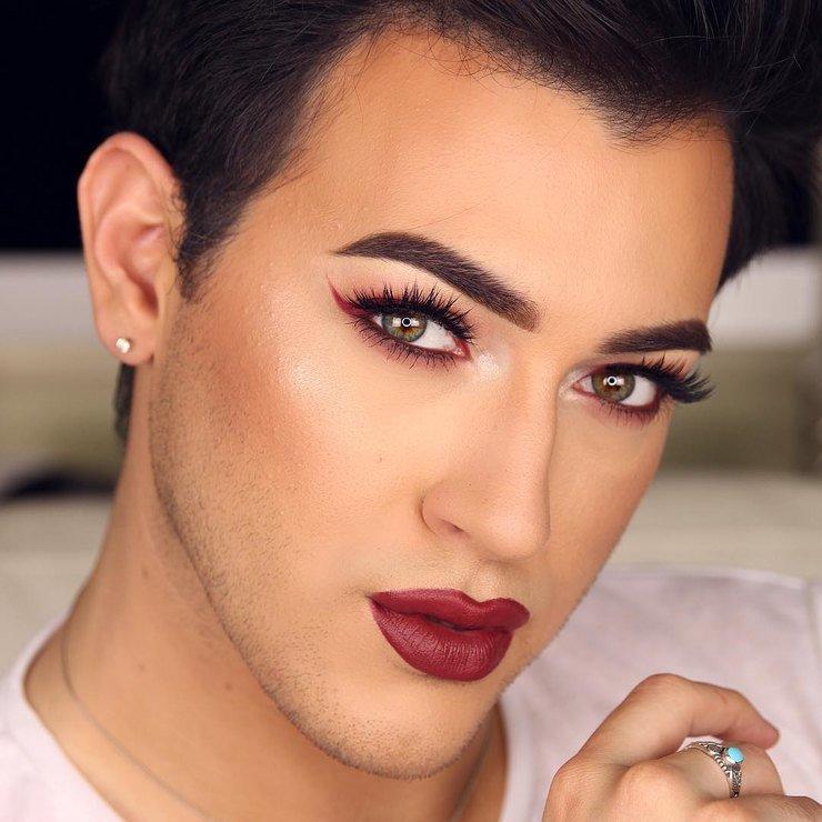 Картинка мужик с накрашенными губами