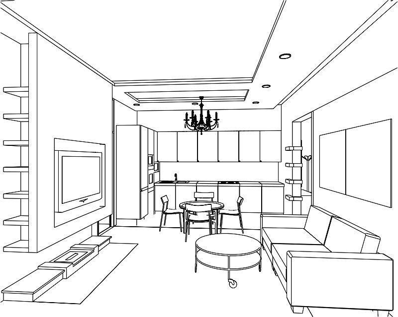 этой картинка чертеж комнаты мама кирилла