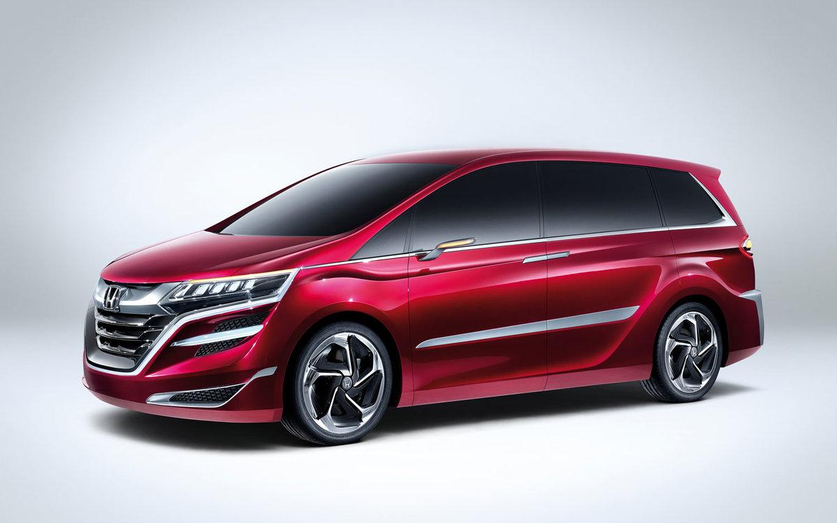 2016 Honda Odyssey Redesign Red Color