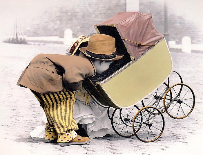 Прикольные картинки с колясками