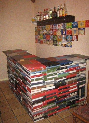 мебель из старых книг своими руками