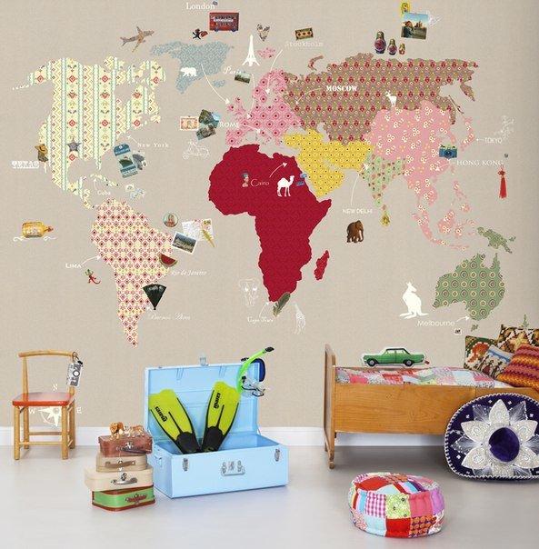 20 идей декора стен для детской комнаты | Дизайн интерьера | Декор своими руками