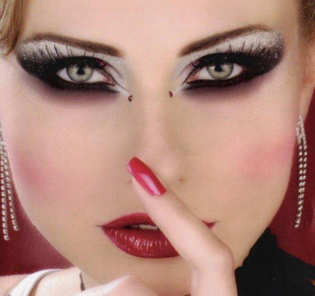 арабский макияж пошагово