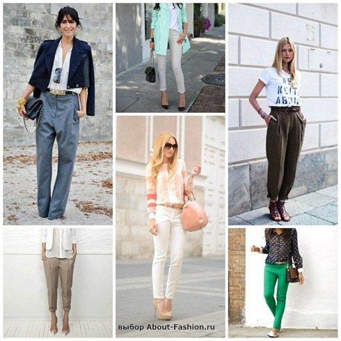 » Брюки женские фото | Мода 2015: ABOUT-FASHION.RU