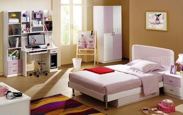 дизайн детской кровати для девочки