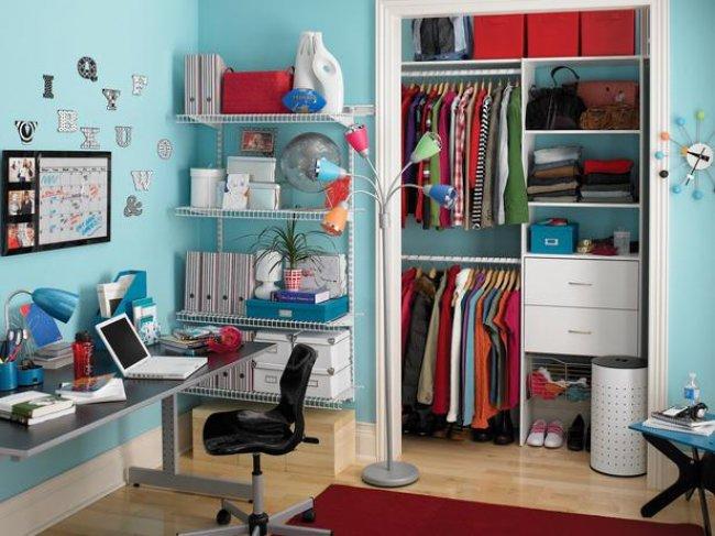 Дизайн гардеробной комнаты: фото-идеи