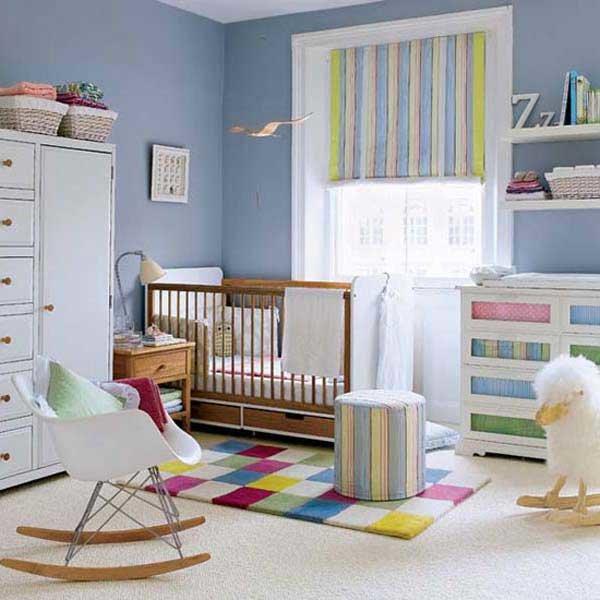 Дизайн интерьера детской комнаты своими руками.