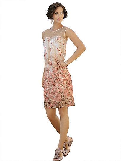 Druckkleid (ALBA MODA GREEN) | Otto Group -20% | Акции | Новая коллекция | Интернет-магазин европейской одежды katalog.ru
