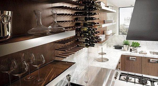 элемент кухни Barrique от фабрики Ernestomeda, дизайн Dordoni Rodolfo.