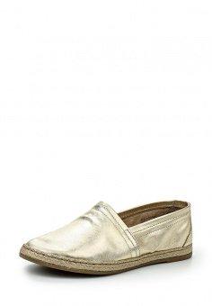Эспадрильи Aldo, цвет: золотой. Артикул: AL028AWHGU21. Женская обувь / Мокасины и эспадрильи / Эспадрильи