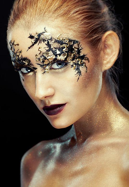 Фантазийный макияж :: Fashion Stylist
