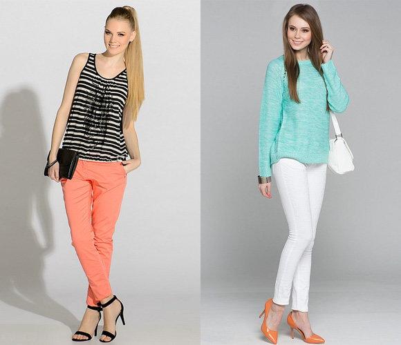 Фото: модные брюки весна-лето 2015