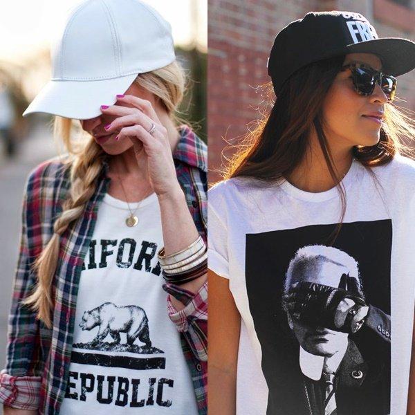 фото модных женских кепок