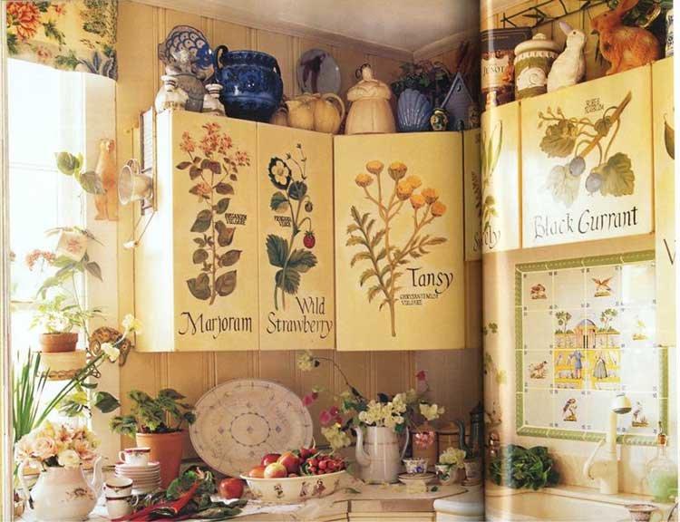 Интерьер кухни своими руками, идеи декора, фото