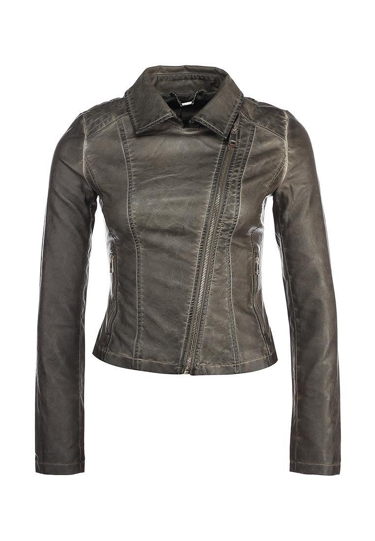 Куртка кожаная Motivi купить за 5 999руб MO042EWGHS89 в интернет-магазине Lamoda.ru