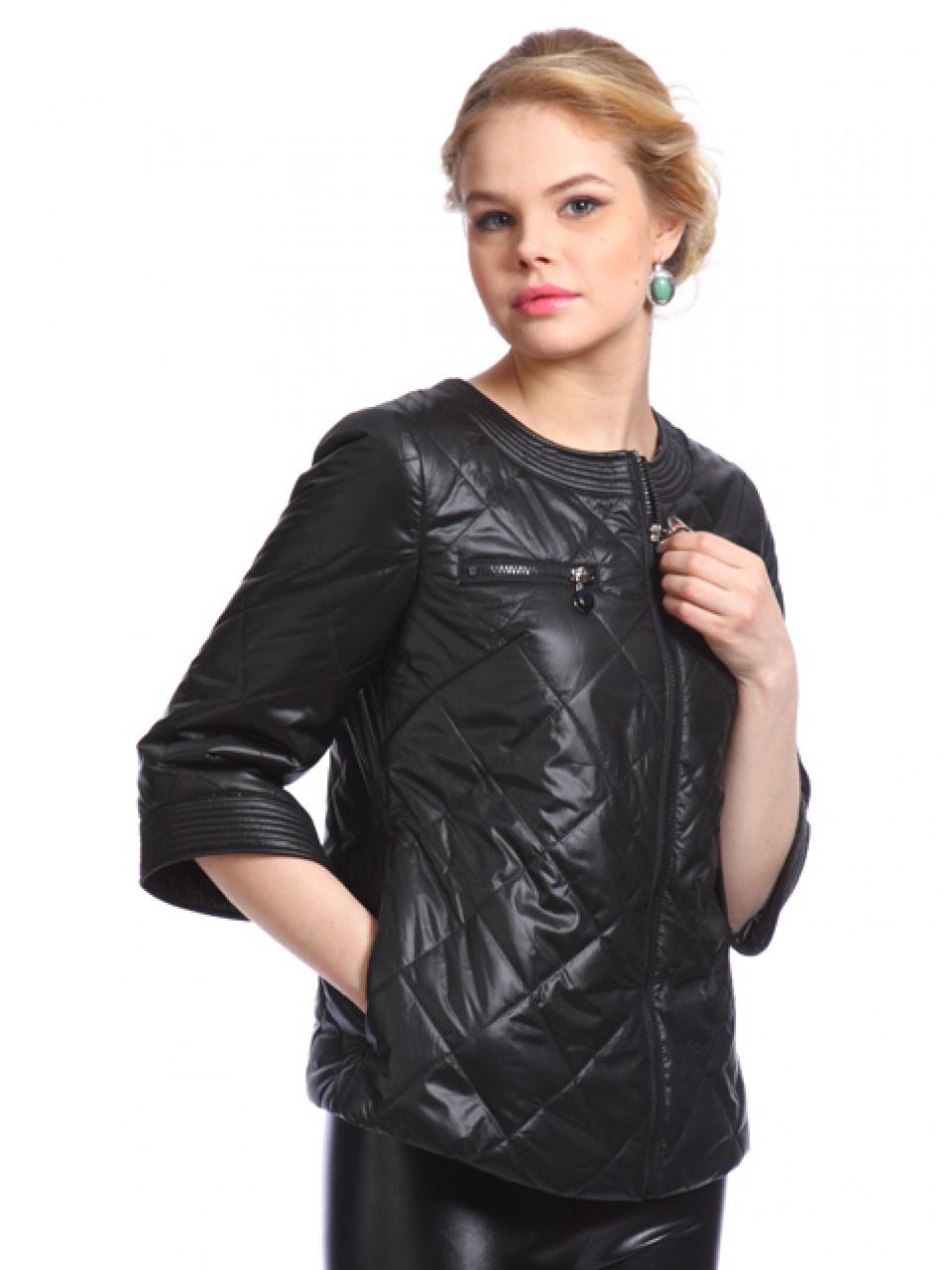 куртка с кожаными рукавами женская картинки электронная