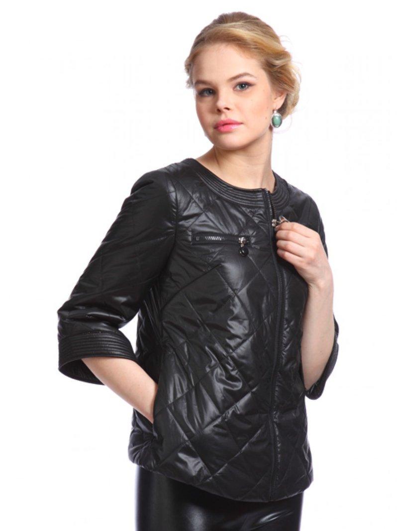 Куртка стеганная Button ( черный)
