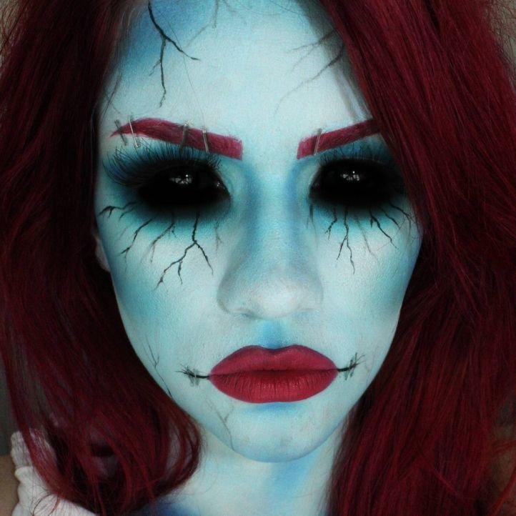 Макияж на Хэллоуин - 40 фото идей макияжа