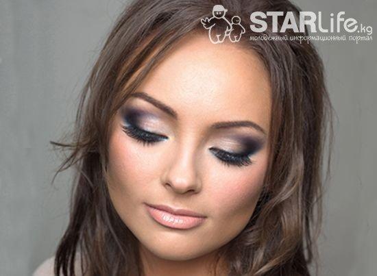 Макияж smoky eyes для невесты. » STARLife.kg - Молодёжный Информационный Портал Кыргызстана