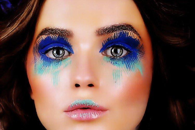 Мастер-класс фантазийный макияж (Make-Up Atelier Paris) | Блог стилиста