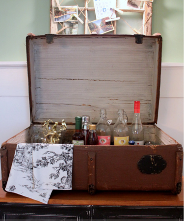 мини бар из чемодана