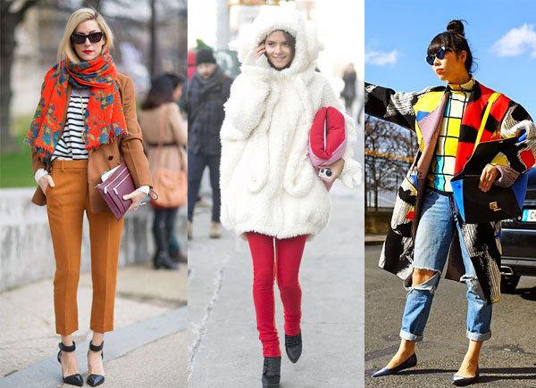 Модные образы осень-зима 2014/2015