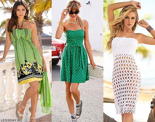Модные летние сарафаны 2014: фото пляжных платьев для жаркого лета, фасоны и модели
