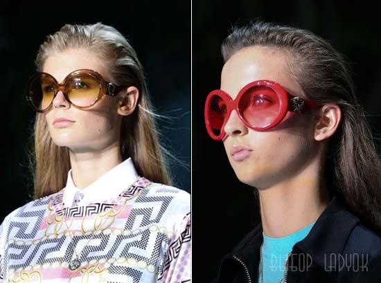 Модные солнцезащитные очки весна-лето 2015, от ретро до футуризма, фото