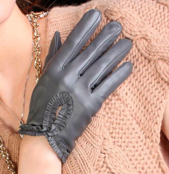 Модные женские перчатки 2014 - 50 фото | Дамские секреты