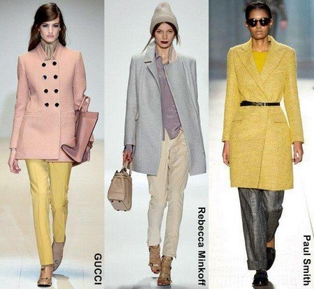Модные зимние пальто 2016
