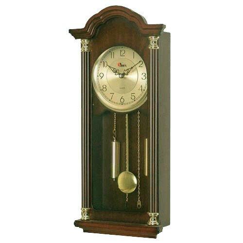 Настенные часы с боем, маятником и мелодией Sinix-2081 GA(F)
