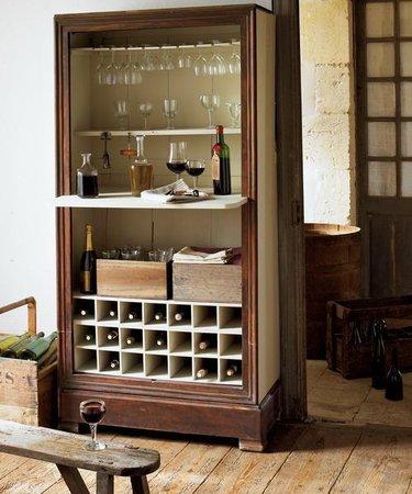 шкаф буфет для вина
