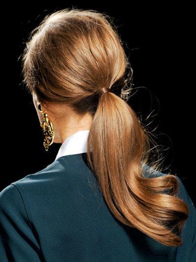 Новогодние прически 2014 на длинные волосы