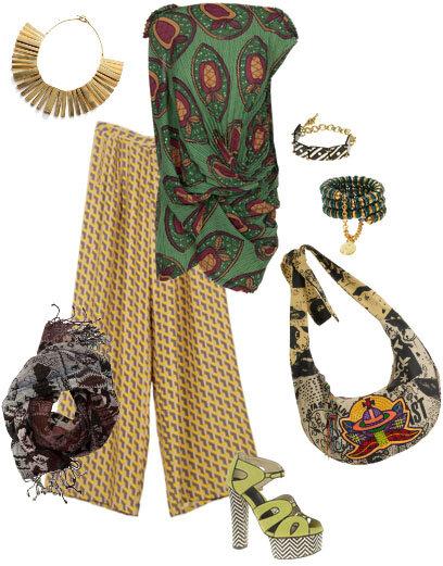 Образ в африканском стиле