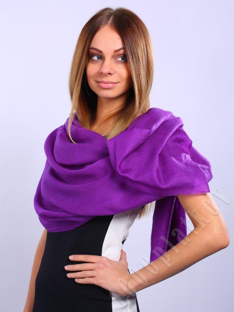 Палантин VENERA (1400413-09), 100% кашемир (Фиолетовый/Сиреневый) купить по цене - 6 075 руб.