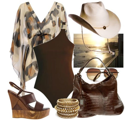 Пляжная мода 2010
