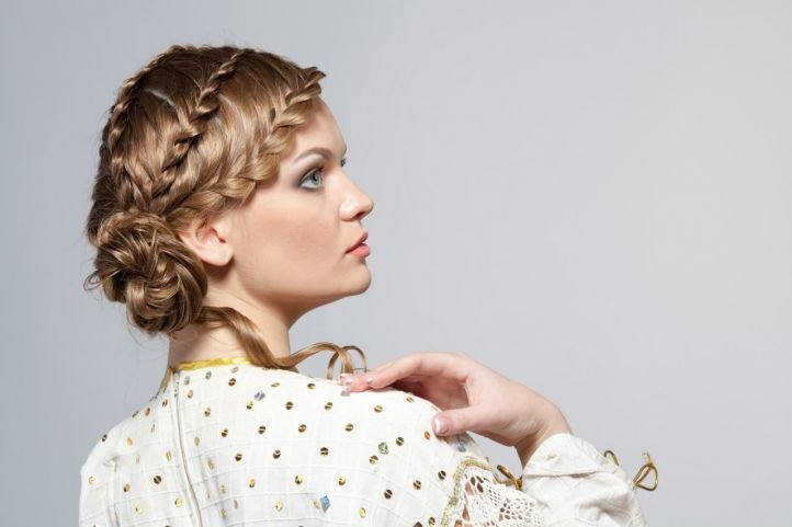 Прически с косой - 238 фото оформления волос
