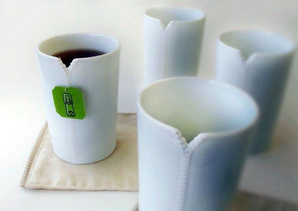 Прикольный дизайн чайных чашек и кружек