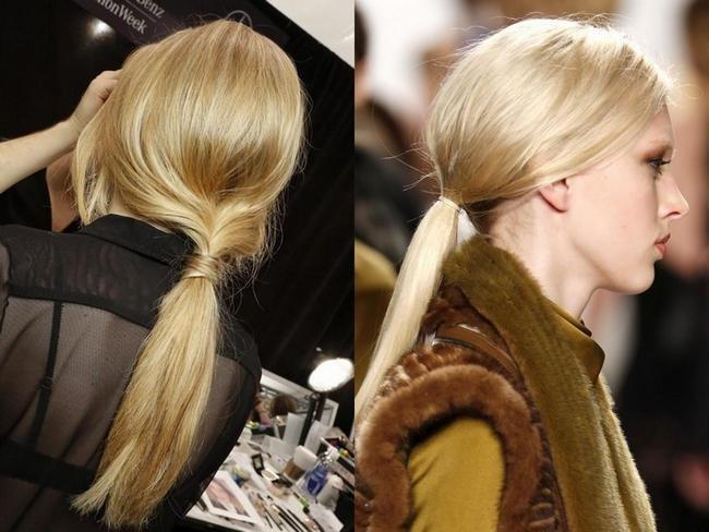 Простые причёски для длинных волос своими руками