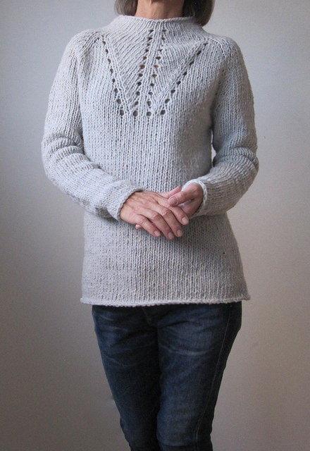 Пуловер, джемпер, свитер схемы и описания