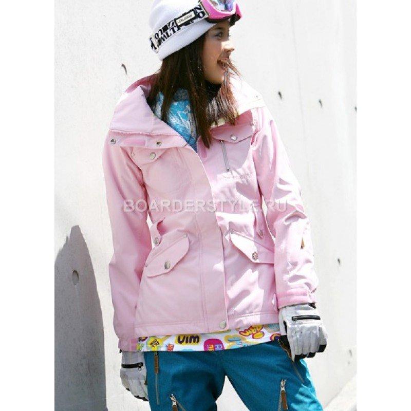 Сноубордическая куртка Cerero Pink / Куртки женские / Куртки / Каталог / BoarderStyle.ru