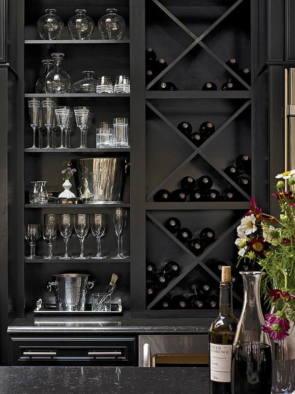 Стеллаж для хранения вина
