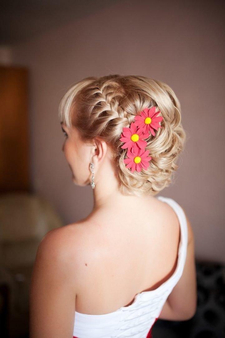 Свадебные прически на короткие волосы: 37 красивых фото идей