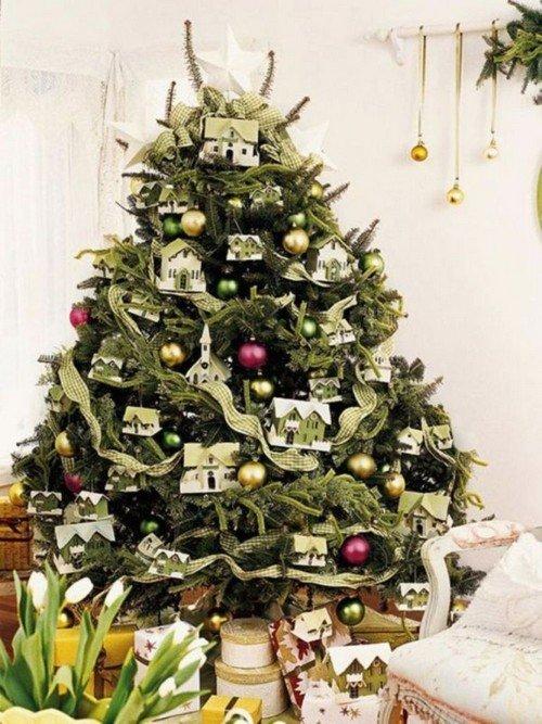 Украшение елки для приобретения жилья в будущем году