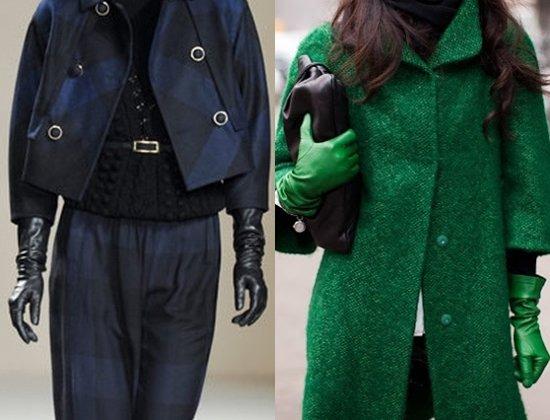 Уроки стиля: с чем носить длинные перчатки, фото