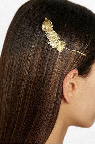 Заколка из 18-каратного золота от Ana Khouri