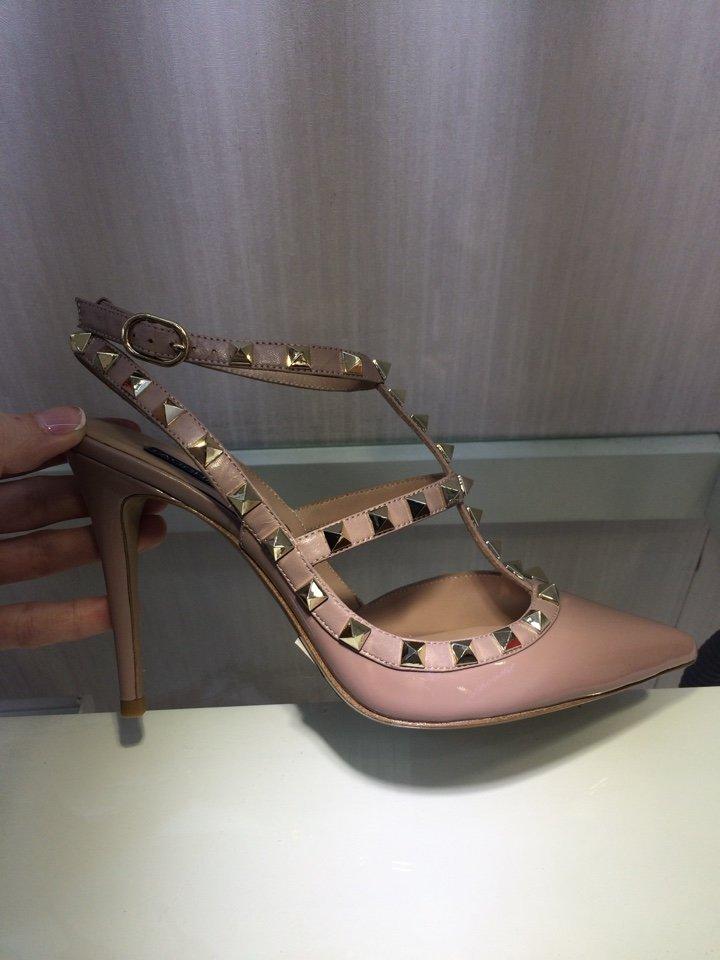 Женские туфли Valentino Rockstud с клепками - купить женские туфли