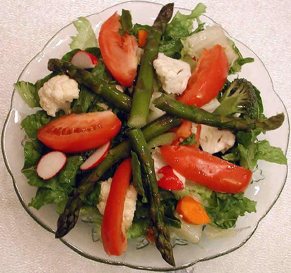 овощные и фруктовые салаты рецепты с фото