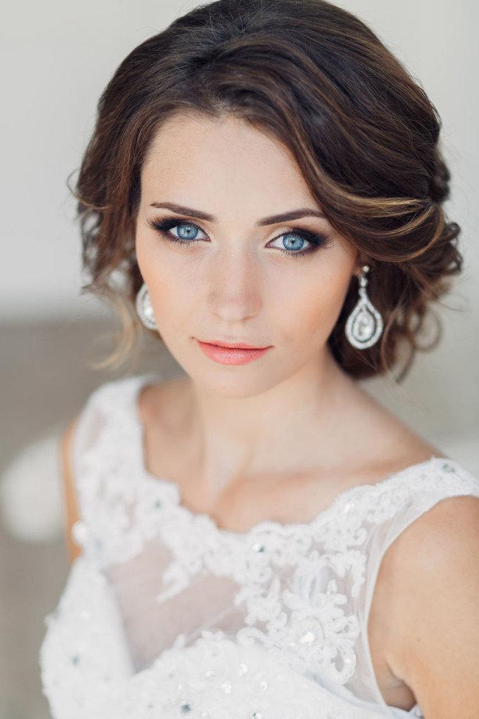 » Свадебный макияж для брюнеток   Модельное агентство