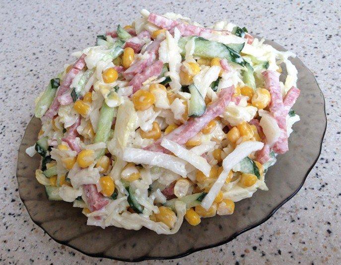 Простой салат рецепты с фото